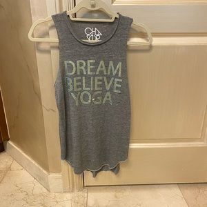 Cha Sor Tank top Believe Dream Yoga